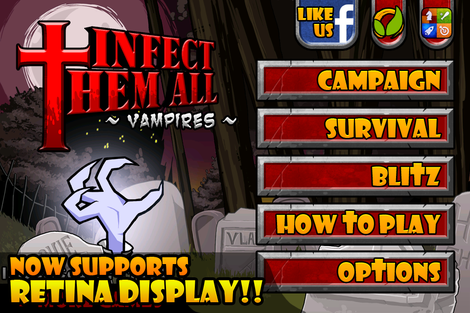Free Infect Them All iPhone Game