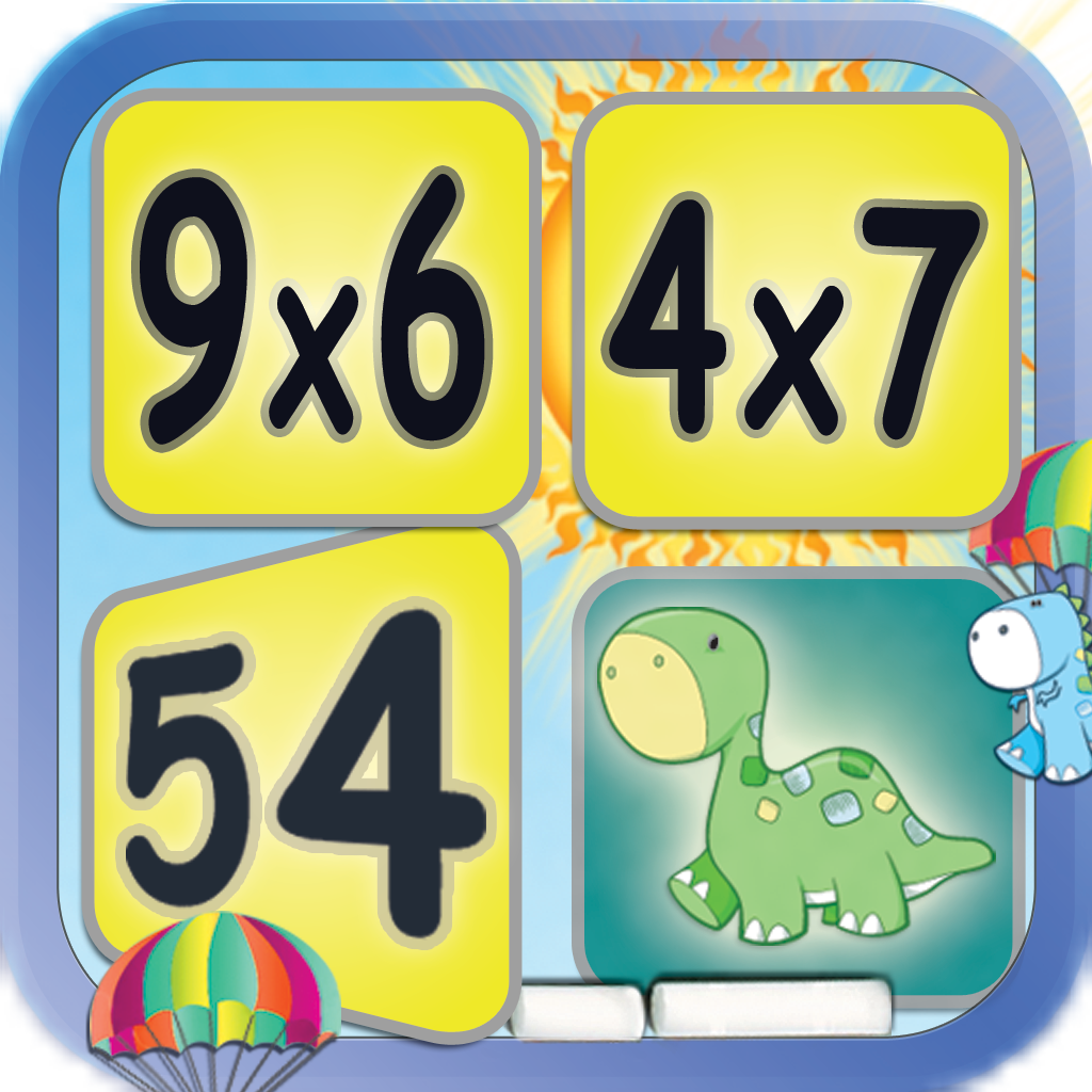 Multiplication: Math Facts Card Matching Game