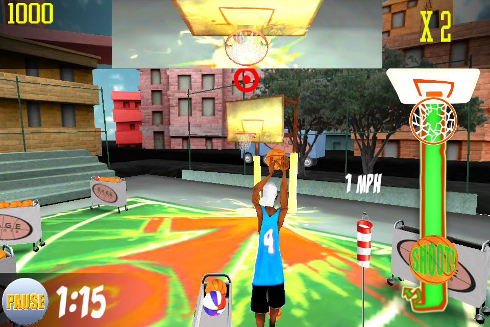 Screenshot Bombshot Basketball 3D